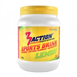 3 ACTIONS SPORT DRINK LEMON