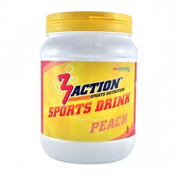 3 ACTIONS SPORT DRINK PEACH